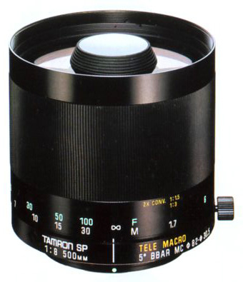 Tamron SP 500mm F/8 Mirror Model 55B