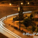 Uhuru Highway at night