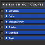 Finishing Touches Tab