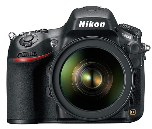 Nikon's new FX DSLR, the D800 (and D800E)
