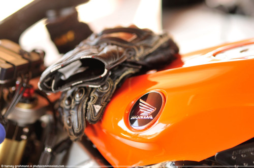 Orange Honda © Harvey Grohmann 2013