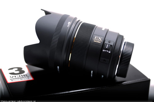 Sigma 85mm f/1.4 EX DG HSM